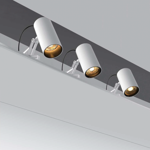 Side-mounted Architectural Track Luminaires